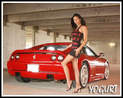 Panama City Aug 20, 2008 Yogurt Photos Hot Car and Model