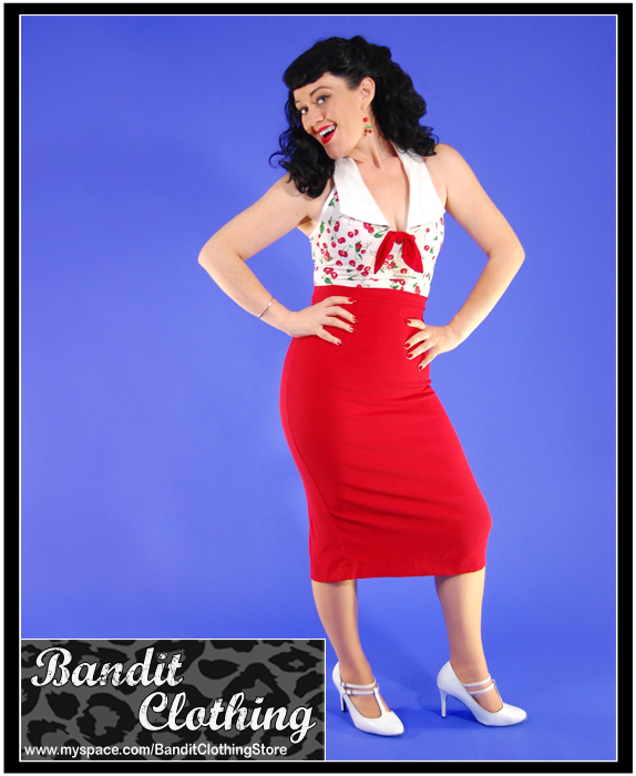 Female model photo shoot of Brenda Lee Pin-Up by Shoeless Noe