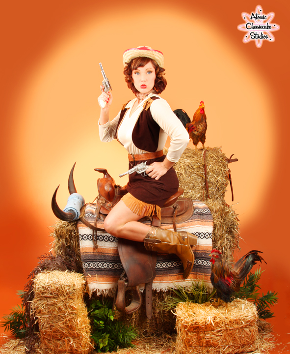 Aug 21, 2008 Stacey Barich, Atomic Cheesecake Studios Amy Feline Goes Wild West!