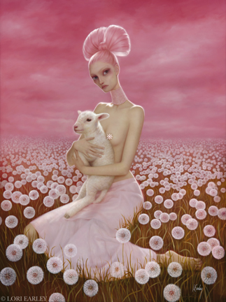 Aug 21, 2008 ©Lori Earley The Wish, (censored) Oil on Linen.***Prints of this painting are available at www.loriearley.com/prints***