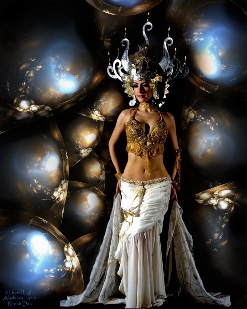 Photographers portfolio. Aug 24, 2008 Liquid Light (Artist)/Aladdins Lamp, Ritesh Das (Photographer) Priestess
