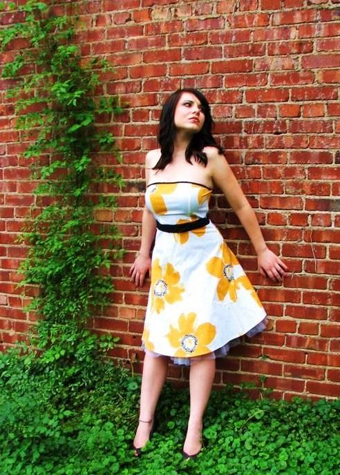 Female model photo shoot of Jennifer Irene by Kristin Moore