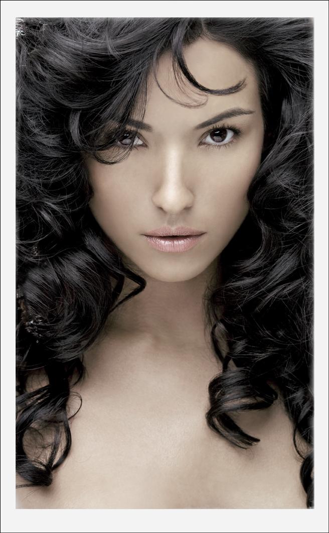 Southern California  Aug 24, 2008 JPM Estefania , very pretty woman, for an Hair product Company