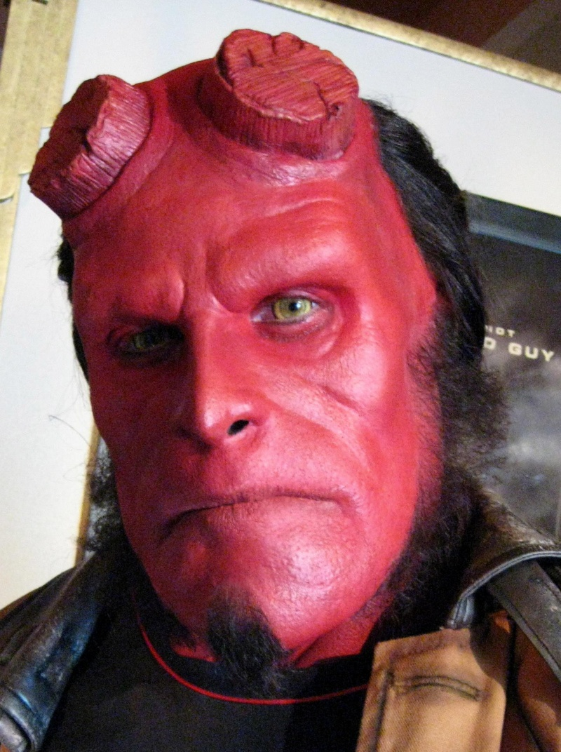 Aug 24, 2008 Hellboy at Universal Studios. Model- John. Paint and application only. Asst.- Jeff. Sculpt- Johna