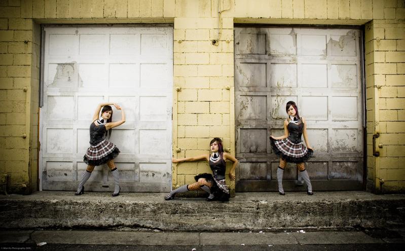 Gastown Aug 25, 2008 2008 @ Allen Ko Harajuku Girls - Where the catwalk got its claws