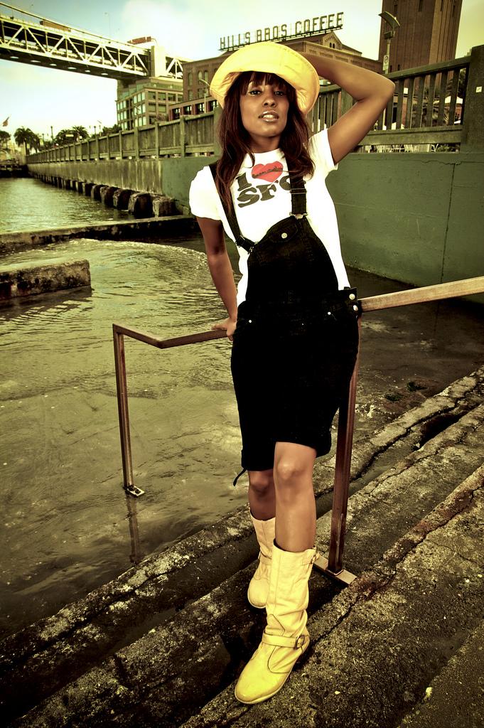 Female model photo shoot of Carmena Victoria in San Francisco