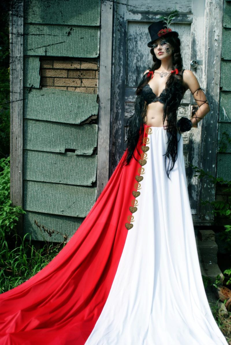 okc Aug 25, 2008 B Von B Queen of Hearts (Hair, Makeup, Wardrobe by Brandi Von Black)