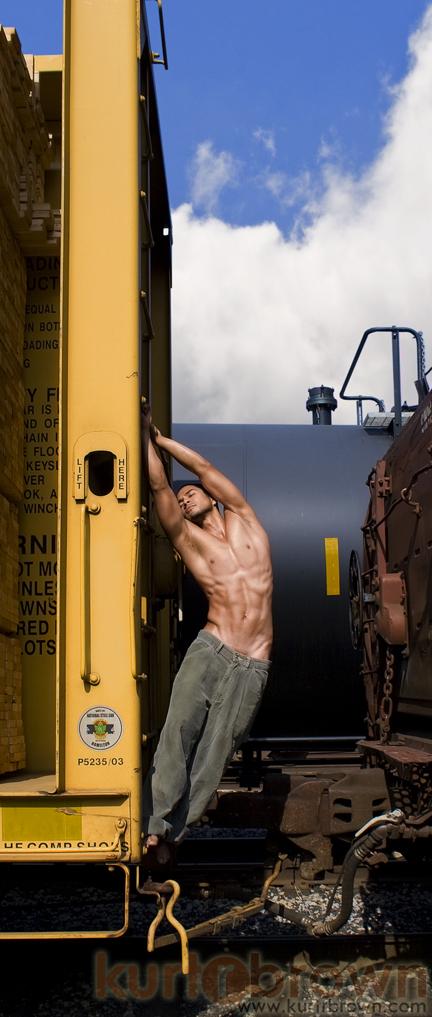 Male model photo shoot of Gio De Marco by Kurt R. Brown in Los Angeles, CA
