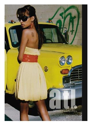 Atlanta, GA Aug 26, 2008 ATL Style Magazine ATL Style Magazines Website Lead Image (Model: Brittany. Stylist: LaToya. MUA: Keya. Photo: Kevin Stewart)