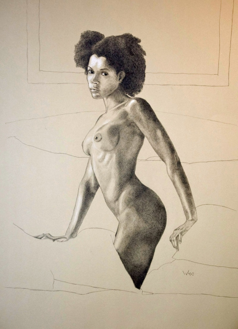 Aug 26, 2008 Fine Art by Wade Female Nude 1
