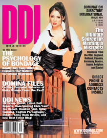 Los Angeles, CA Aug 27, 2008 DDI Magazine Worldwide DDI Magazine Cover, issue 59
