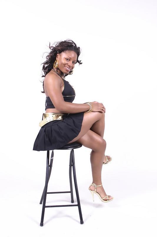 Female model photo shoot of LaShawn Lawson in MFI Studio