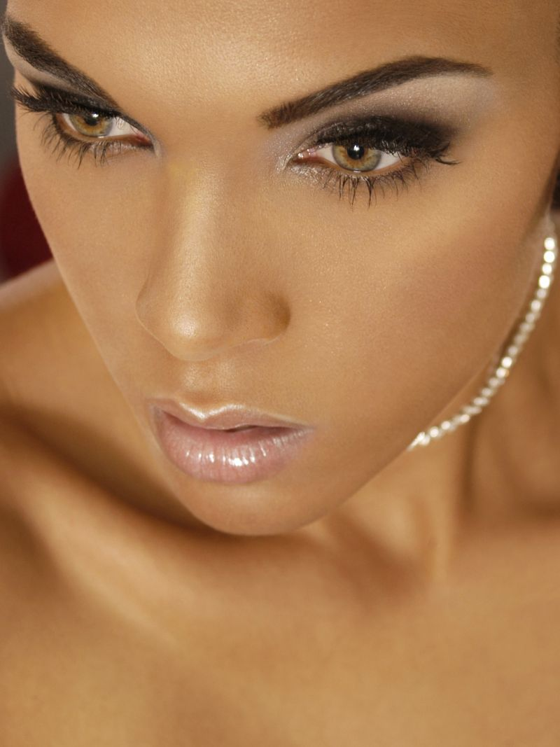 Female model photo shoot of GabrielleNatasha by TAD Images in Los Angeles, makeup by Vanity Scientist