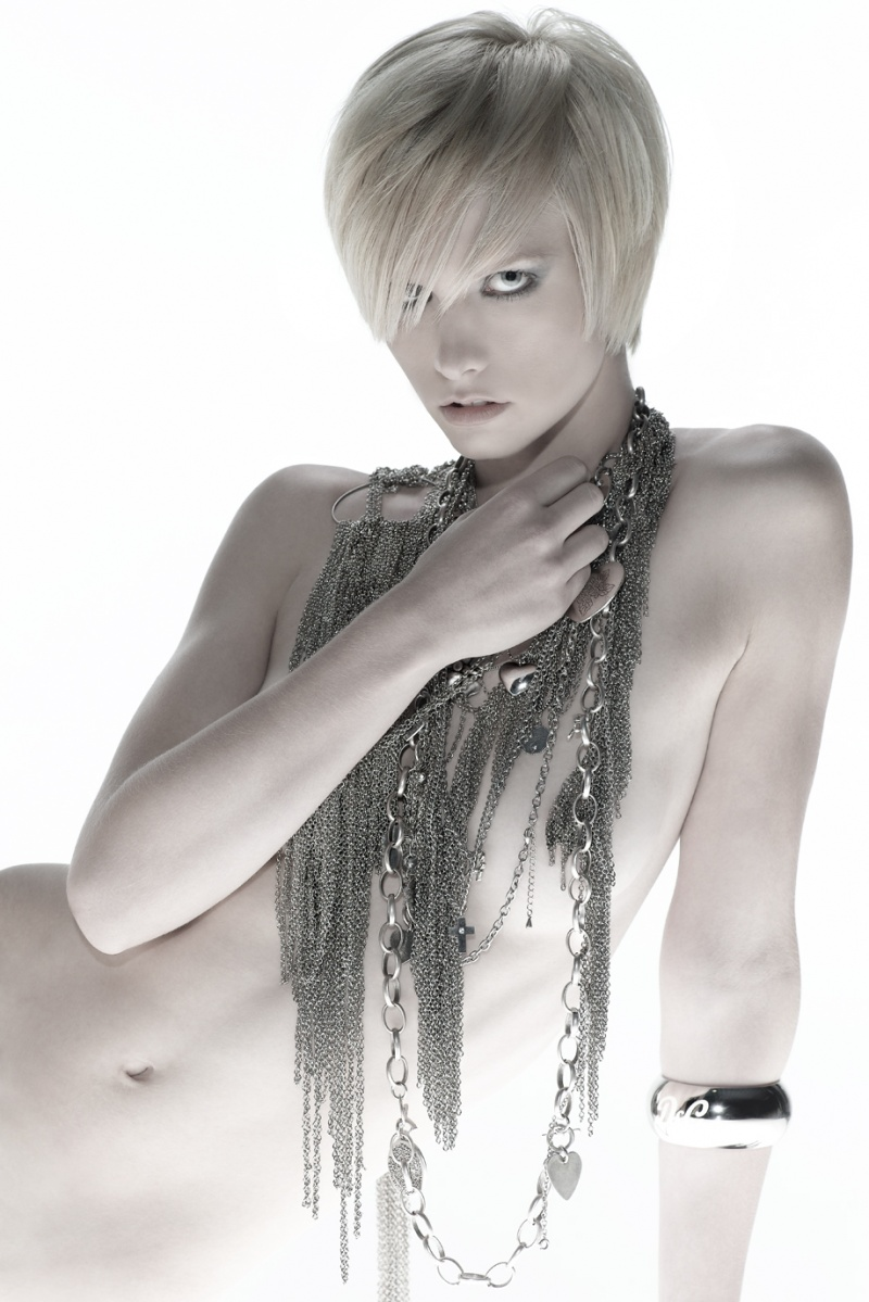 Brisbane Aug 28, 2008 Photographer Israel Rivera,Hair Todd Ardnt my 2nd ever photoshoot. Was for Australian Hairdresser of the Year