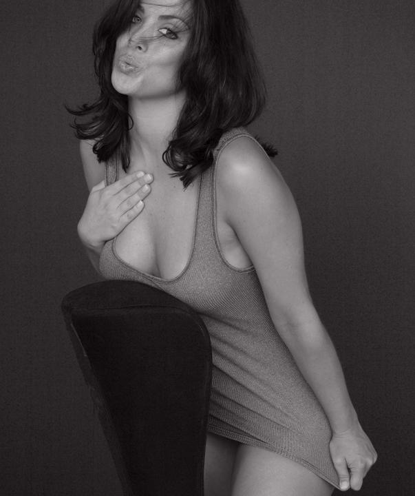 Female model photo shoot of Leanna Yust by Harold Glit