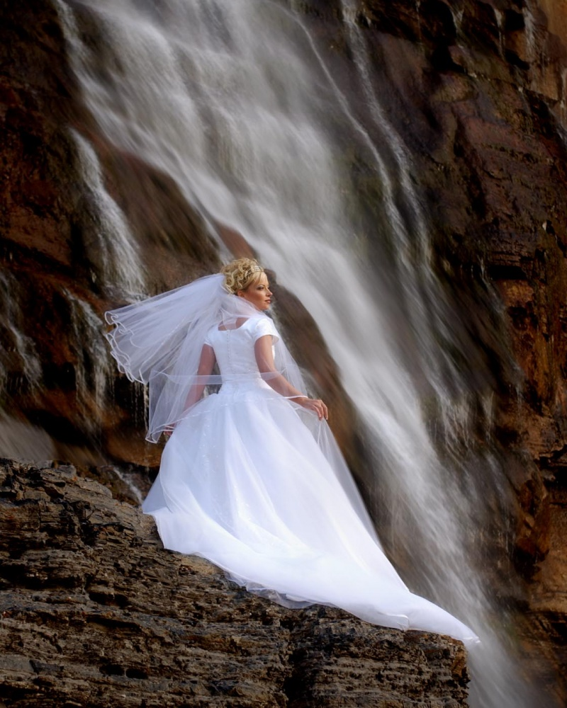 provo canyon  Aug 30, 2008 BCI 2008 Bride & vale falls/ for dress shop