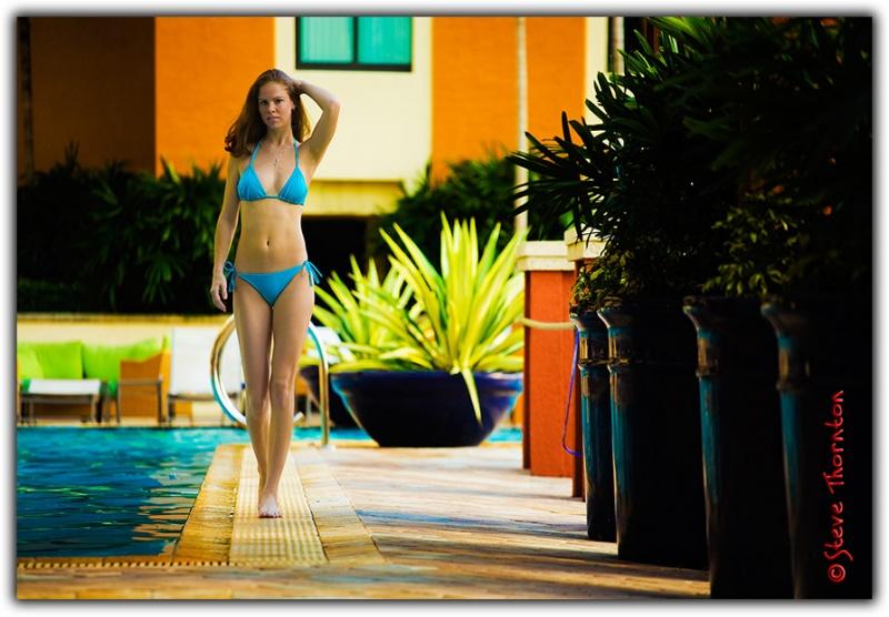 Female model photo shoot of Stephanie H by Steve Thornton