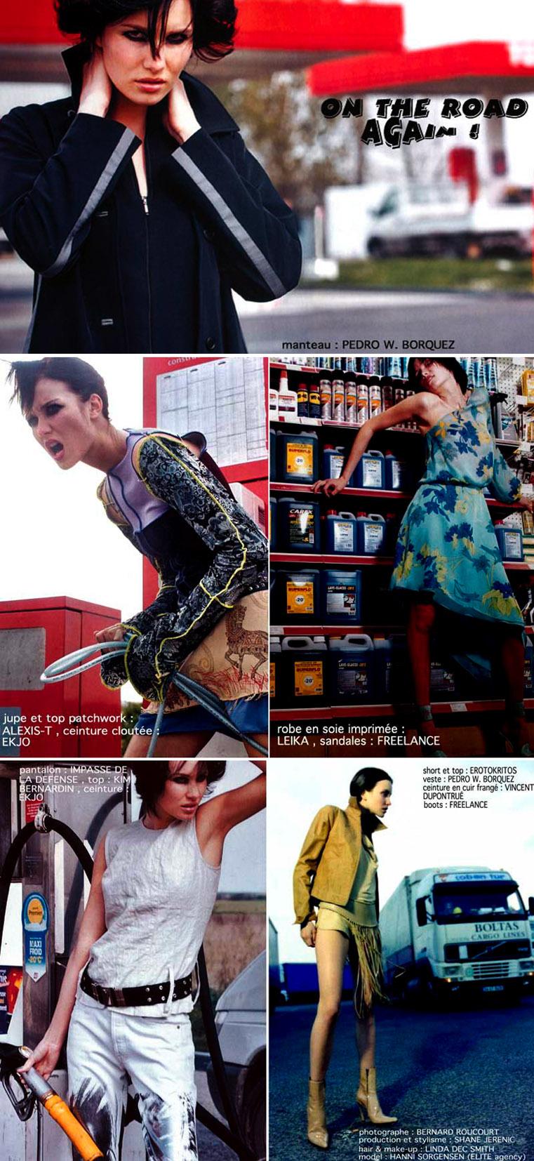 Paris Sep 06, 2008 bernard.roucourt@skynet.be Da niouzs magazine (Hanni from Elite agency)