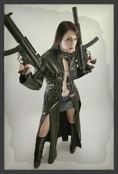 AP PHOTO STUDIO Sep 06, 2008 ARMED AND DANGEROUS!