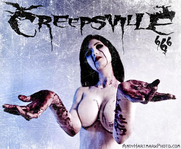 no time like the present Sep 06, 2008 andy hartmark photography creepsville 666 album cover ~ mua/h meleah ~ photo by andy hartmark