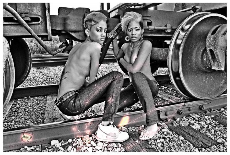 Male and Female model photo shoot of WHaz Washington and Janet Kay
