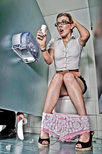 Secret unisex toilet Sep 07, 2008 Teddy Tan Toilet Relay
