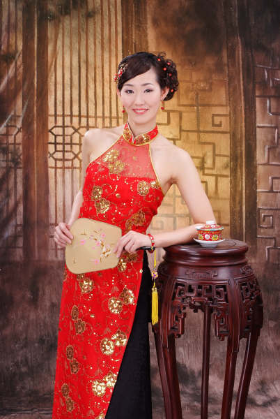 In China Sep 07, 2008 Chinese folk costume