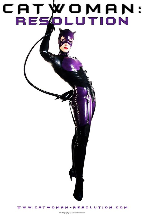 Sep 08, 2008 AMBER MOLTER as Catwoman