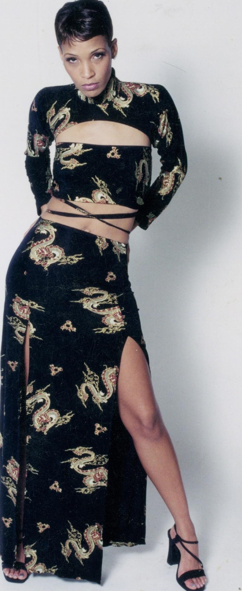 O Sep 08, 2008 Designer James Head Model Marla Davis 1990