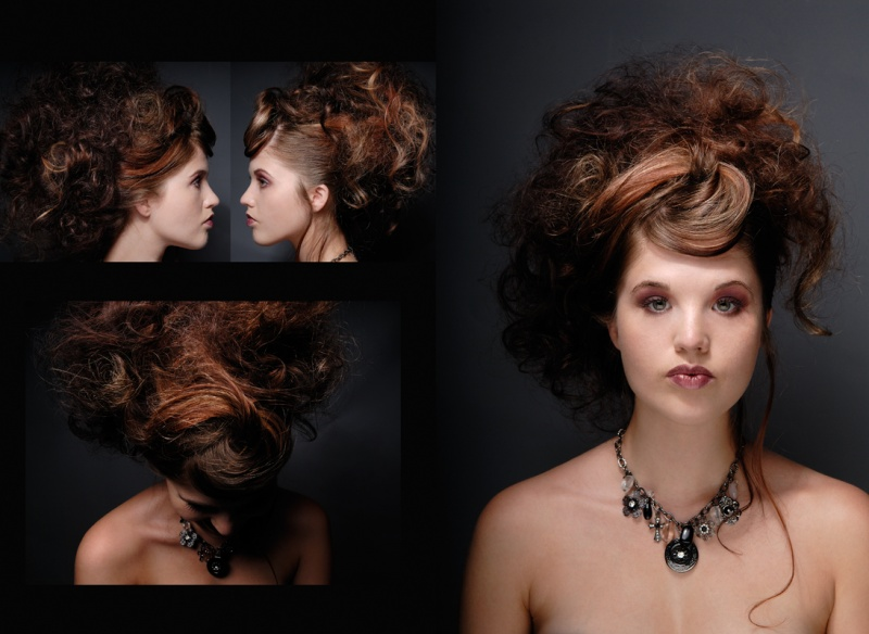 Female model photo shoot of Marshelle Nicole by ChanStudio, hair styled by ZoeGruel, makeup by kc creative