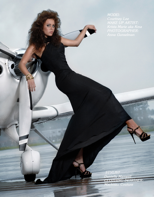 Sep 10, 2008 Elevate Magazine 7/2008- hair styled by me as well