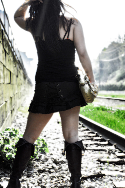 Female model photo shoot of Barbara Rahal  in Vancouver BC