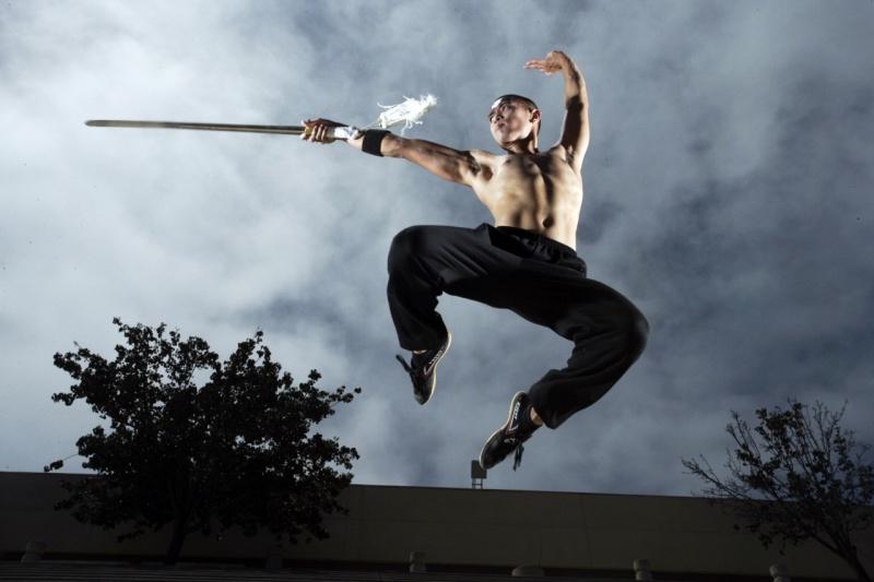 San Diego Sep 11, 2008 Kung Fu Shoot with Robert Benson