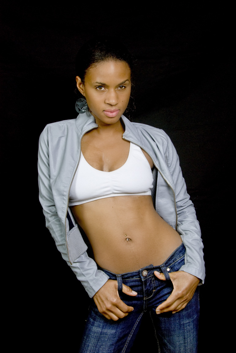 Male and Female model photo shoot of Natural Konjo Photo and D More Smith in Home Studio