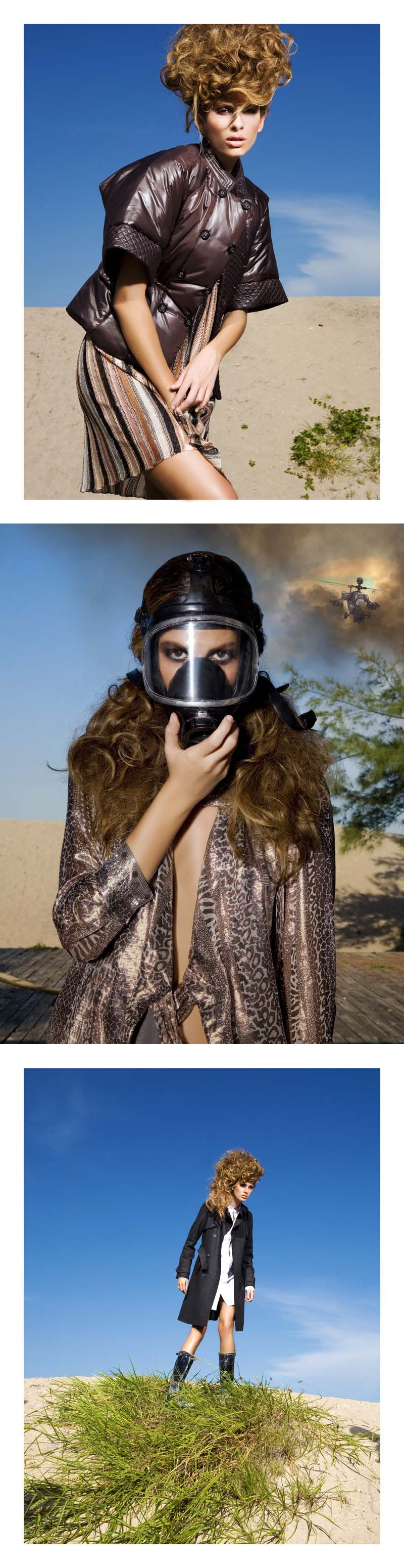 Male model photo shoot of Richard Cordero in My own nuclear hell