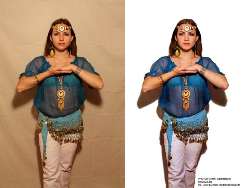 Female model photo shoot of Retouching by Kearstin and Lena Meow by Isaiah Headen in Washington