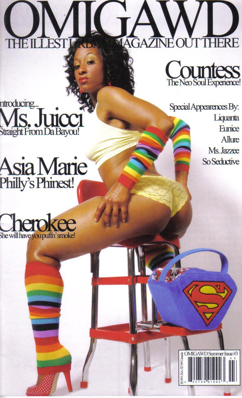 ATLANTA Sep 13, 2008 R.L OMIGAWD MAGAZINE COVER