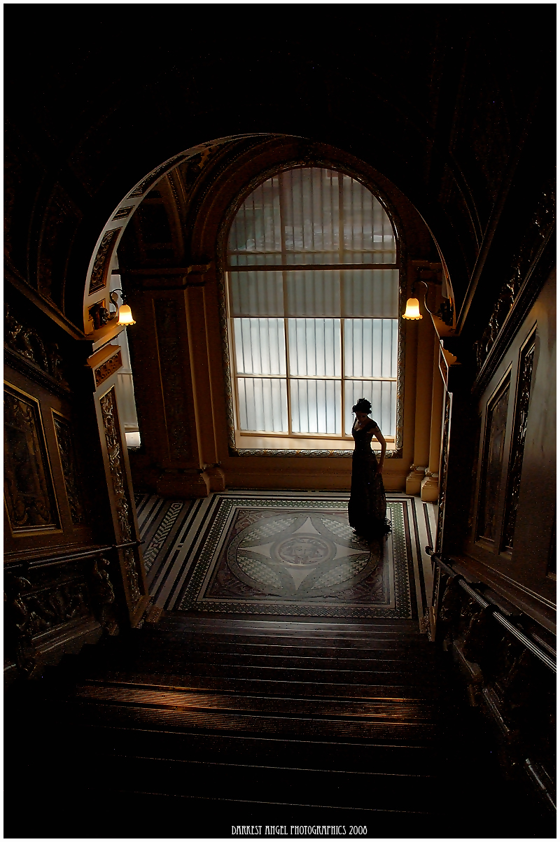 V & A Museum, London Sep 14, 2008 Darkest Angel