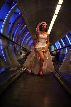 Female model photo shoot of Glam Girl Photographer in Bally's in Vegas