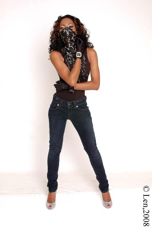 Female model photo shoot of Jade Greene by lennie reid in ATL, GA, makeup by Krysten Perkins