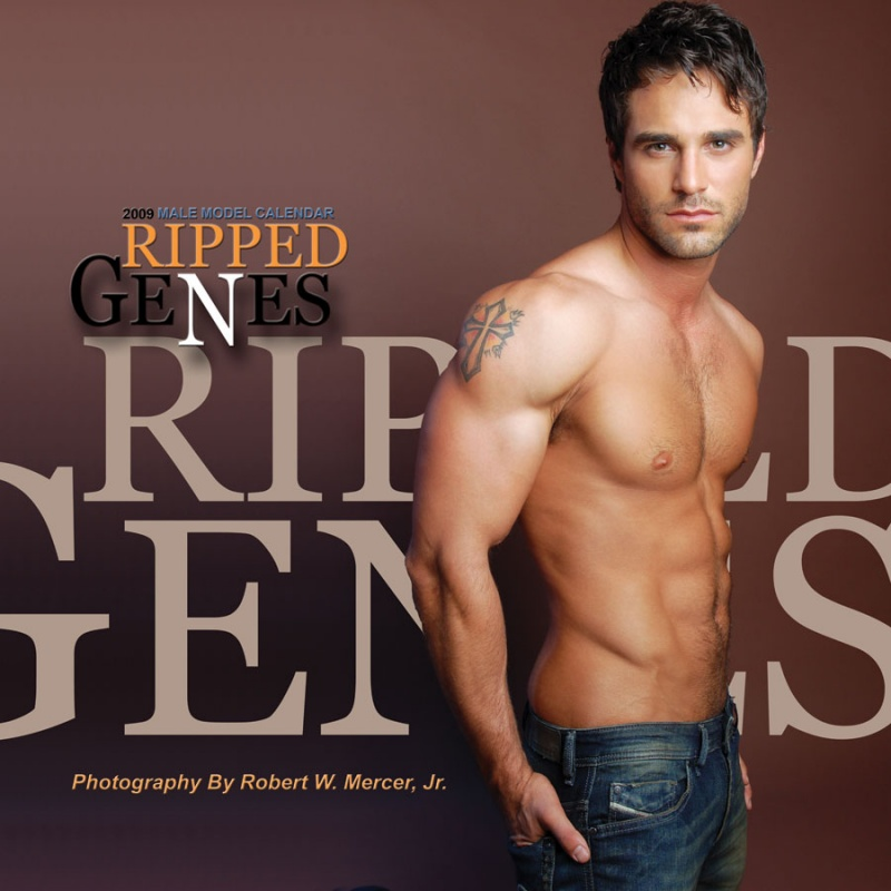 Baltimore Sep 16, 2008 Fashion Enterprises, LLC 2008 2009 RIPPED GENES Calendar featuring Actor/ Model - Marco Dapper
