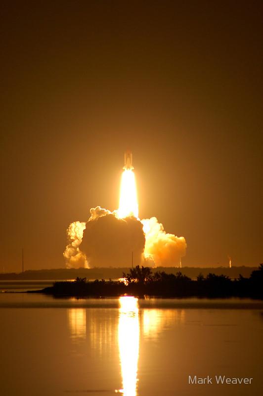 Kennedy Space Center, Florida Sep 16, 2008 2008 Mark Weaver Work...Shuttle Night Launch