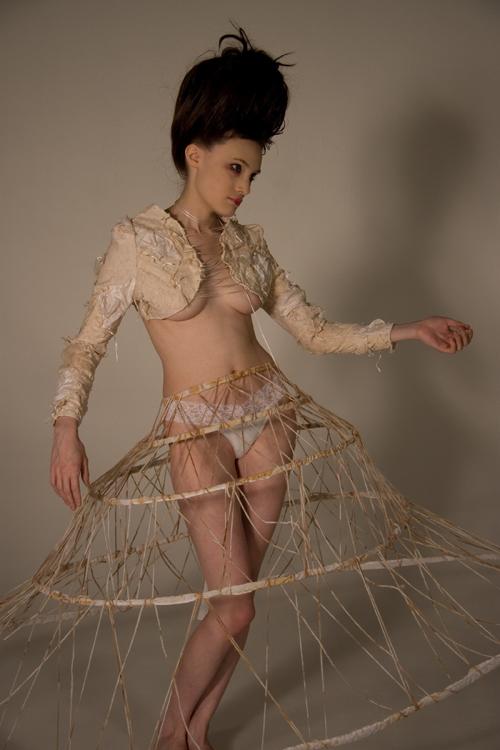 Sep 17, 2008 Arcana: White - Model: Holly Irwin, Photographer: Charlotte Furneaux