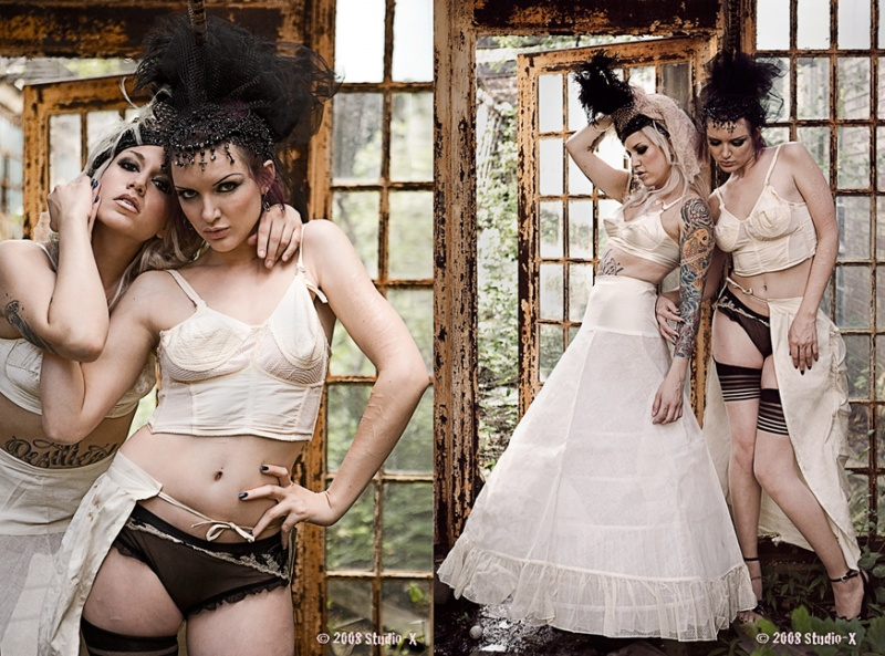 Sep 17, 2008 Studio-X 2008. Styling by myself and Scar! Victorian Adventure in the Greenhouse