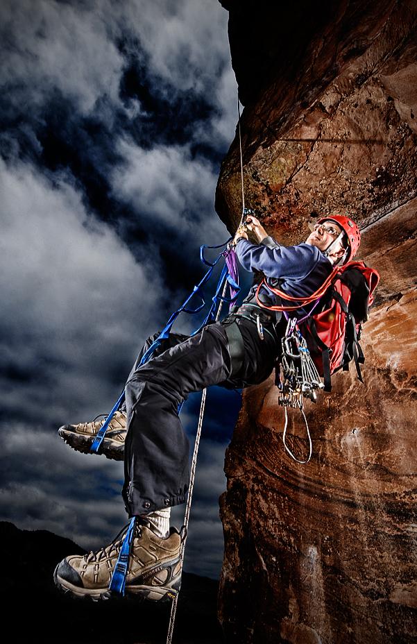 Horsetooth Reservoir Sep 18, 2008 Tom Bol Photography  rock climber
