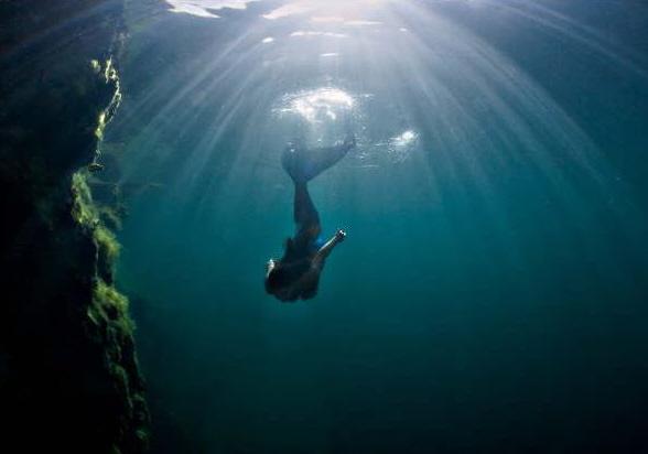 Female model photo shoot of Mermaid Sharkey by Way Beyond Productions in Lake Rawlings, VA.