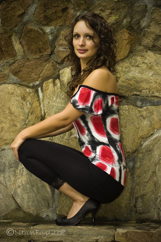 Female model photo shoot of Gina Martin by Nathan Boyd