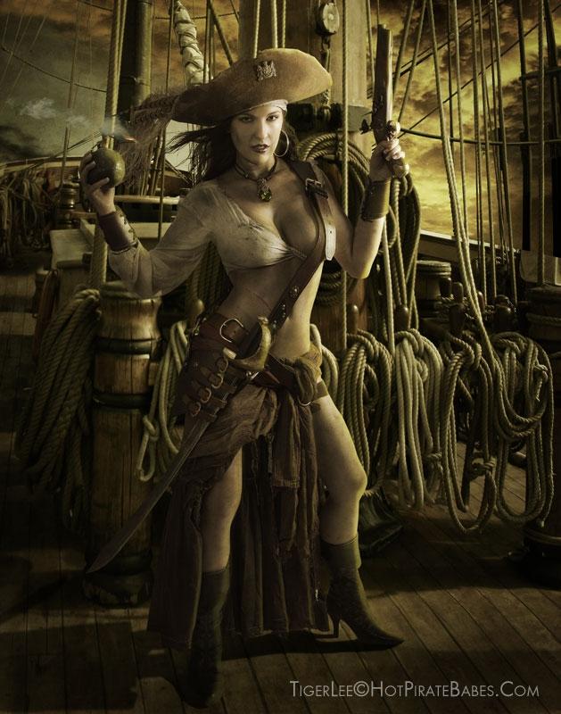 The Black Pearl Sep 19, 2008 www.hotpiratebabes.com A Pirates Life For Me