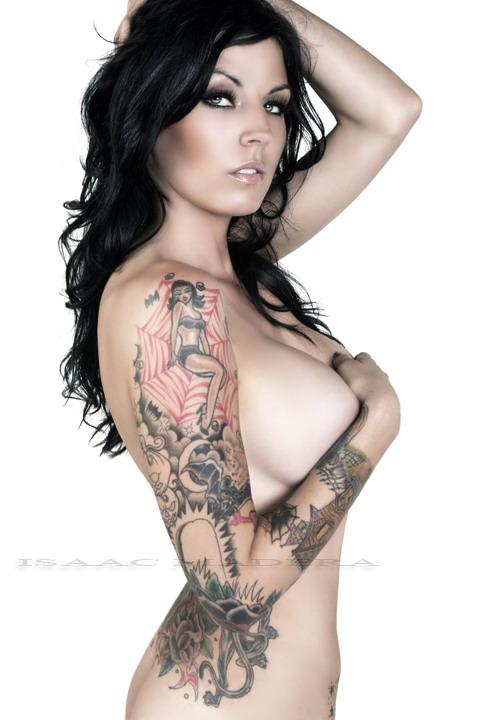 Female model photo shoot of Monica-Renee by Isaac Madera