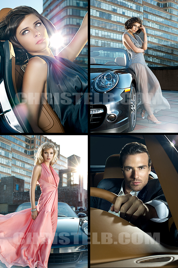 Manhattan Motorcars NYC Sep 21, 2008 Christel Bangsgaard Tamara Pogosian Spring Collection 2009